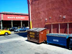 bright dumpsters